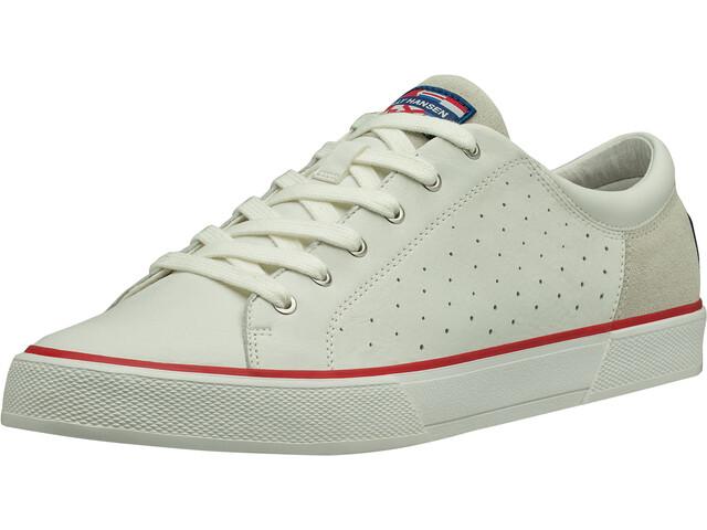 Helly Hansen Copenhagen Chaussures en cuir Homme, off white/alert red/light grey
